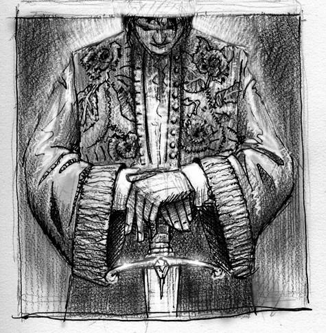 Sophos as dressed by Eugenides!