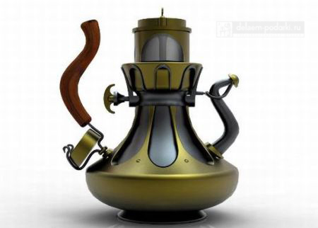 инопланетный заварочный чайник