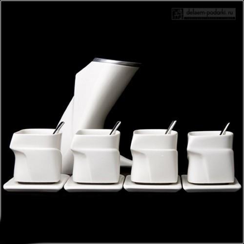 прикольный чайный набор