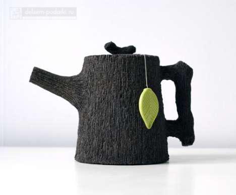 чайник заварочный под дерево