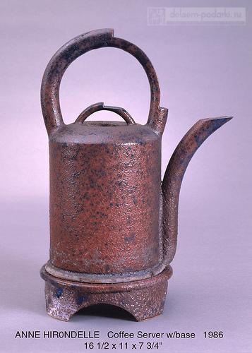 чайник под старину керамика