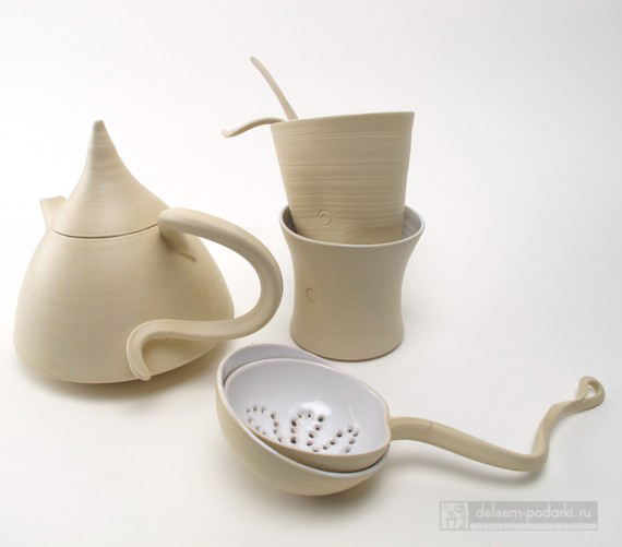 чайный набор из фаянса
