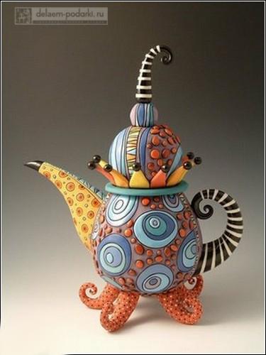 cool_teapots_прикольный чайник шут гороховый