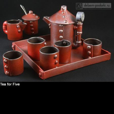чайный сервиз для брутальных мужчин
