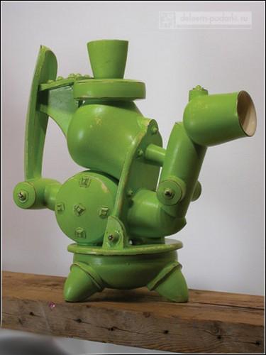 cool_teapots_чайник керамический аля металолом
