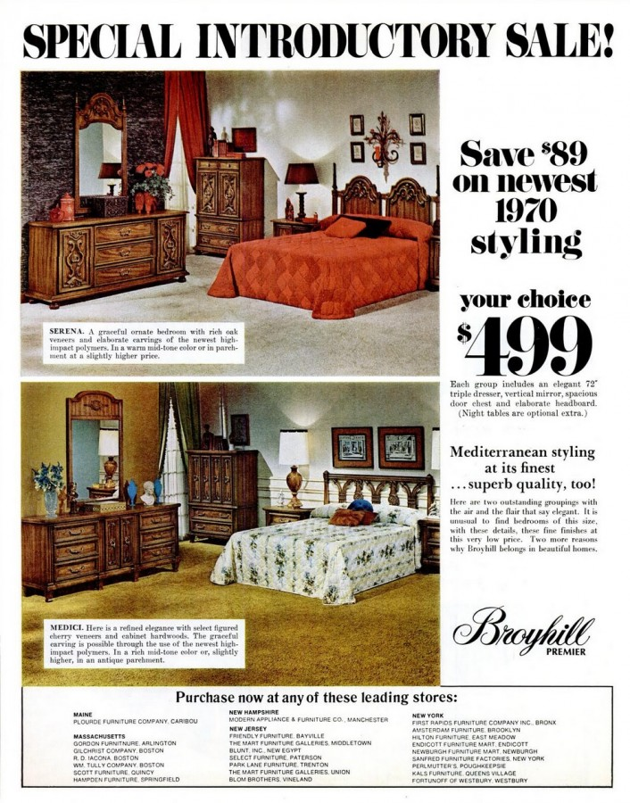 Weekend Event   Furniture: 1970 Broyhill