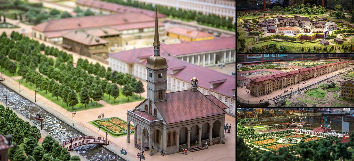 Картинки по запросу Экскурсия в Музей-макет «Петровская Акватория»