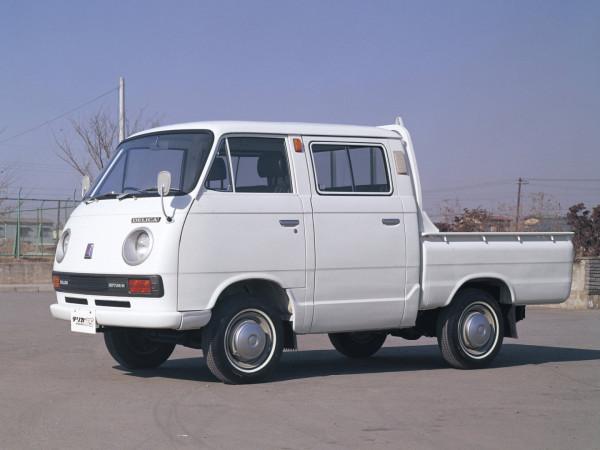 Mitsubishi_Delica_Pickup 4 door_1968