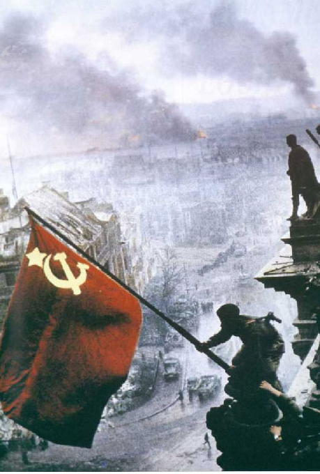 Soviet Flag Over Reichstag