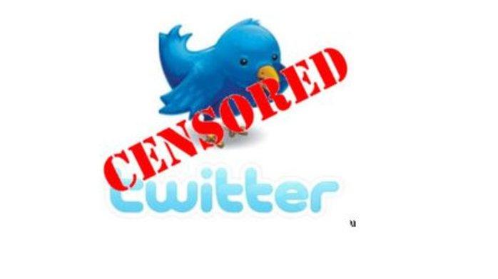 цензура в твиттере