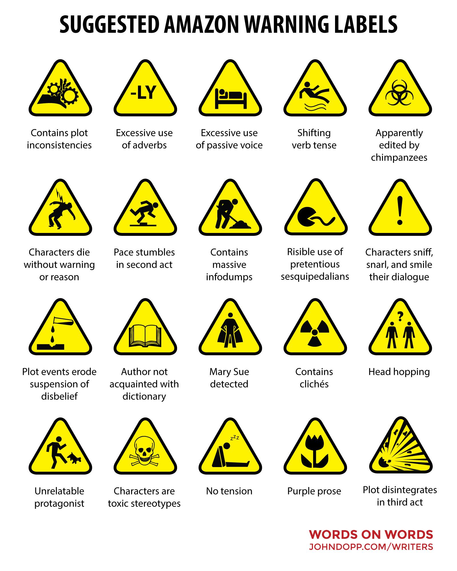 useful amazon warnings
