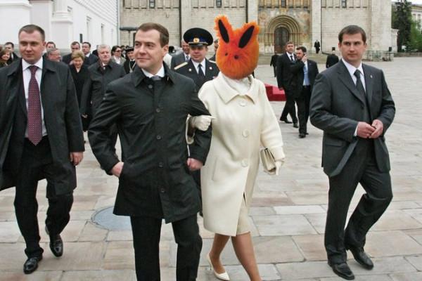 Медведев-политика-прикол-Orange-bunny-593052