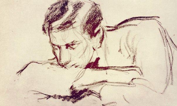 Рисунок Пастернака к роману