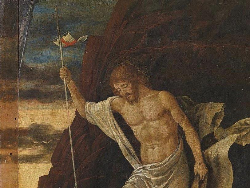 «Воскресение» (фрагмент), Андреа Монтенья