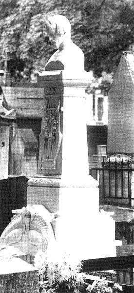 Памятник Гейне на Монмартре