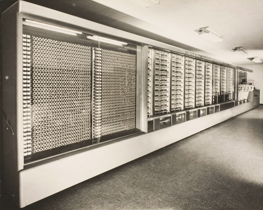 Машина «Марк I», построенная IBM