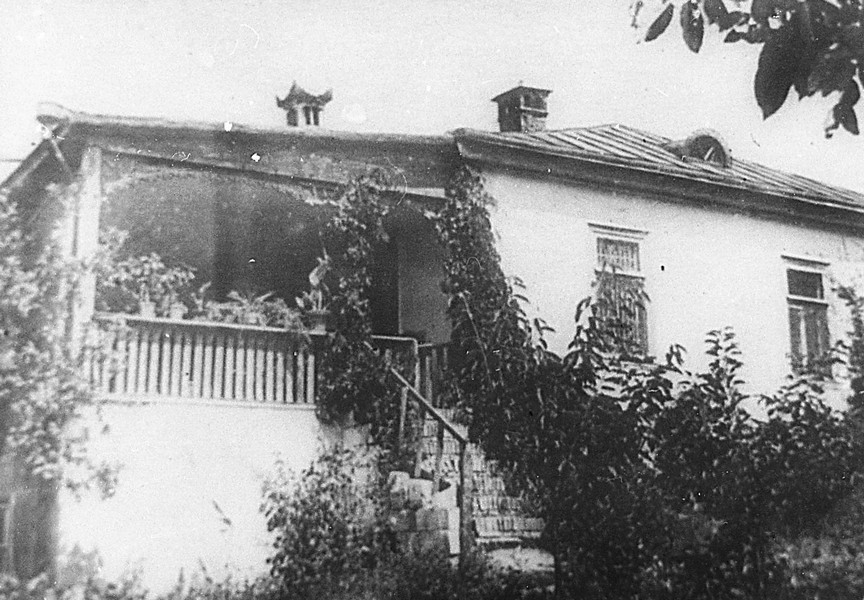 Имение Лазо в с. Езерены, Бессарабия, [1915-1918 гг.] ГАПК, фотофонд, 01522