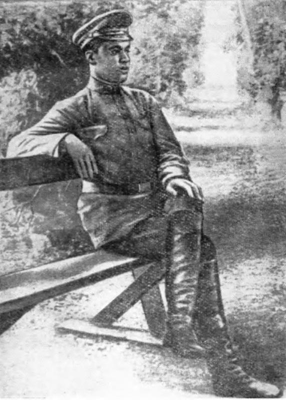 С. Г. Лазо летом 1917 года. Председатель военной секции Красноярского Совета рабочих и солдатских депутатов