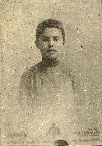 Сергей Лазо в детские годы / ГАПК, фотофонд, П-9594