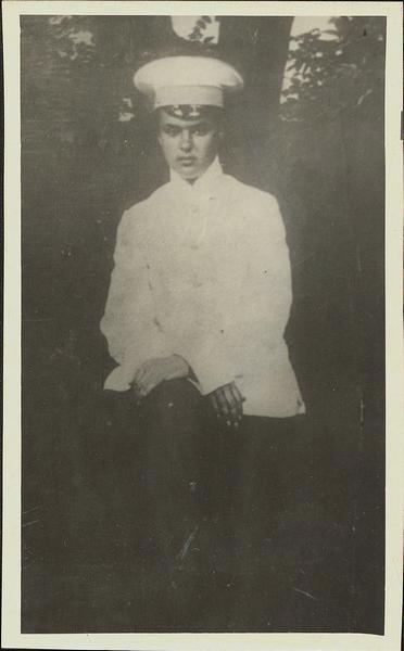 Сергей Лазо - гимназистГАПК, фотофонд, П-9595