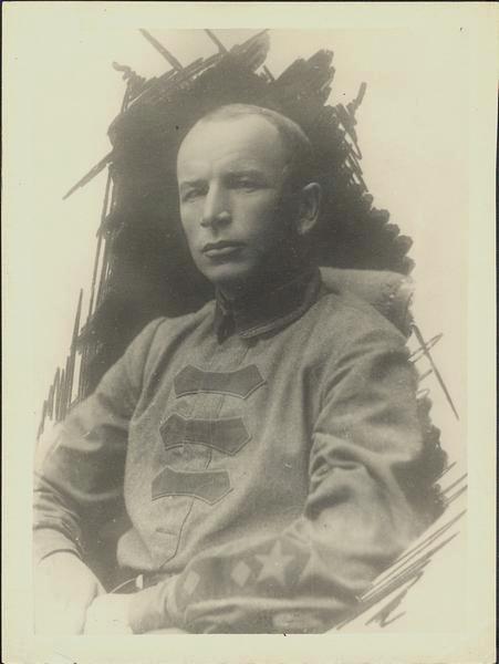 Бородавкин Владимир Александрович, член партии с 1909 г., командир Благовещенского укрепленного района, г. Благовещенск, 1922 г. ГАПК, фотофонд, П-9556
