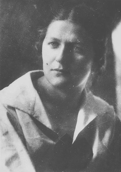 Лазо Ольга Андреевна – жена С.Г. Лазо в молодые годы ГАПК, фотофонд, 01521