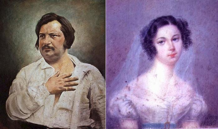 Оноре де Бальзак и Эвелина Ганская