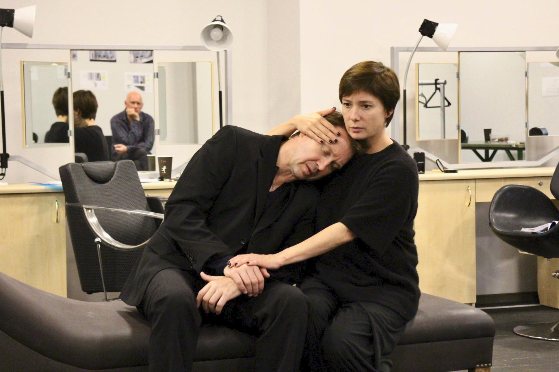 Репетиция спектакля «Горбачев» / © пресс-служба