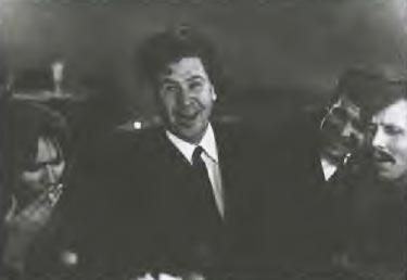 Вечер после закрытия спектакля «Живой». С автором повести Борисом Можаевым, 1968