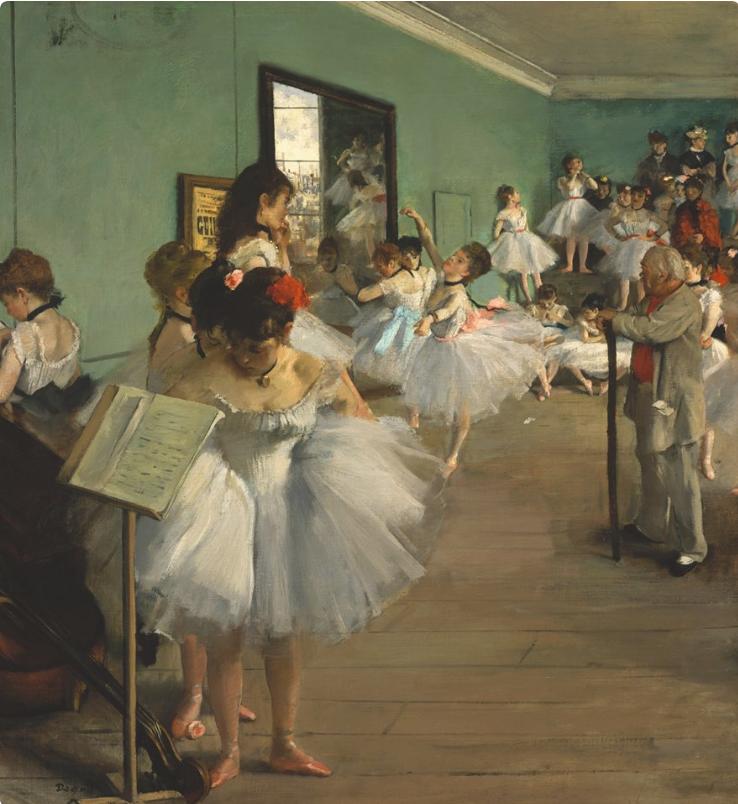Урок танцев (1873—1875), Музей Орсе, Париж