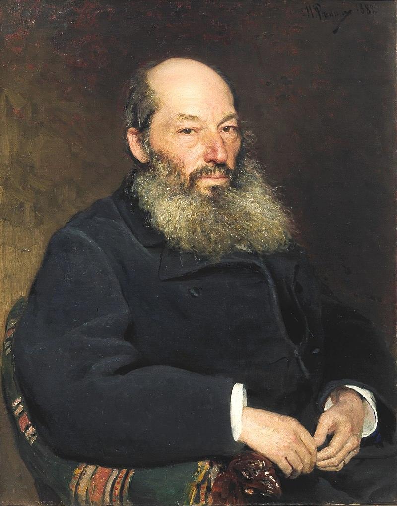 Портрет работы И. Е. Репина (1882)