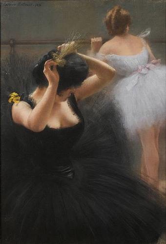Подготовка к балету (ок. 1900)