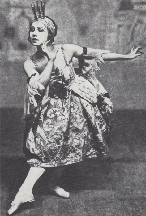 Lydia Lopokova, Lilac Fairy, 'The Sleeping Princess', Diaghilev's Ballets Russes, London, 1921
