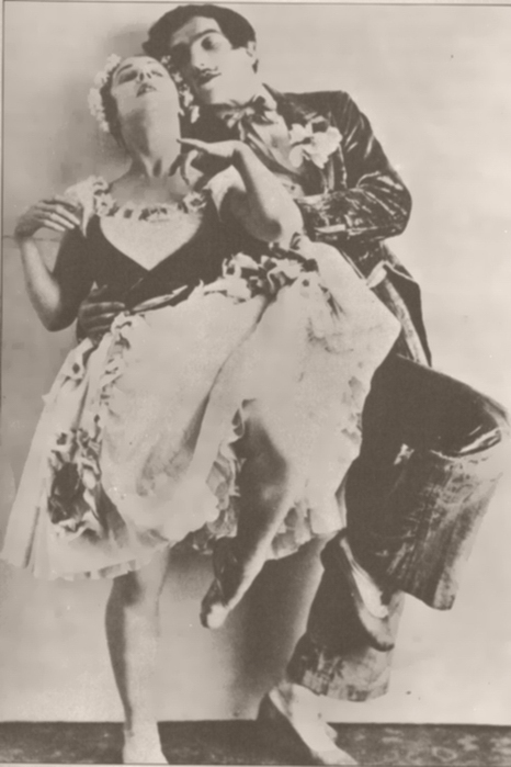 Lydia with Leonide Massine, 'La Boutique Fantasque', 1919
