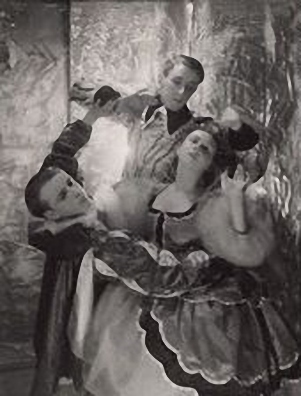 Sir Frederick Ashton; Harold Turner; Lydia Lopokova in 'The Masque of Beauty and Pleasure' Sir Frederick Ashton; Harold Turner; Lydia Lopokova in 'The Masque of Beauty and Pleasure'  © Cecil Beaton Studio Archive, Sotheby's London