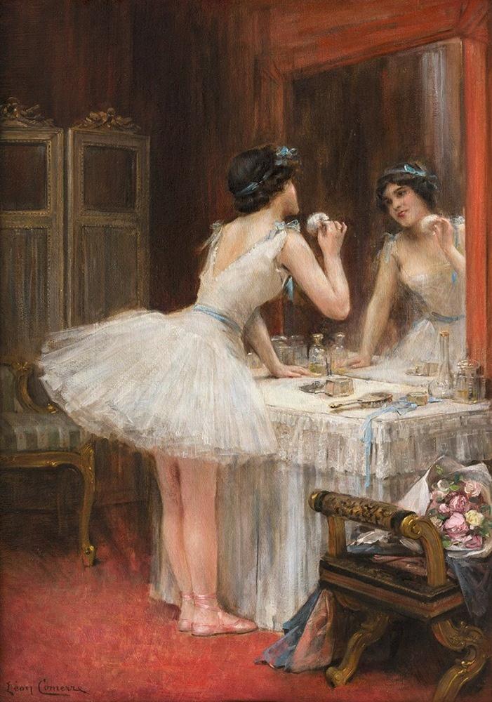 Léon-François Comerre. Ballerina