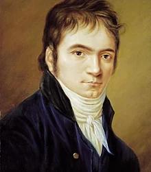 Портрет Людвига ван Бетховена. Работа Кристиана Хорнемана (англ.), 1803 год