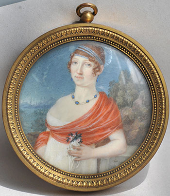 Ж.А.Лоран. Женский портрет. Франция. 1800-е годы