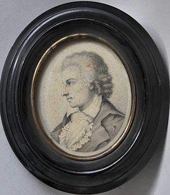 Неизвестный художник. Портрет Ф.Шиллера. XVIII в.