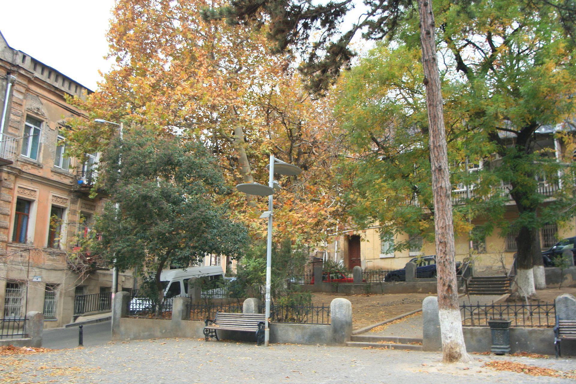 Дом в Тбилиси, где жила Леся Украинка