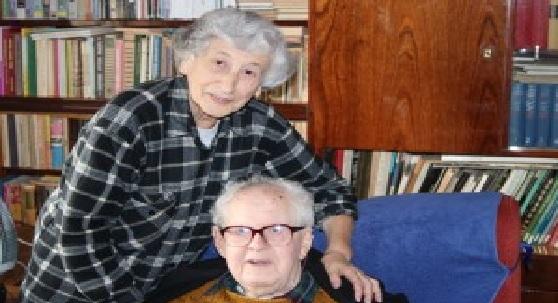 Нисан Шехтман со своей женой Беллой