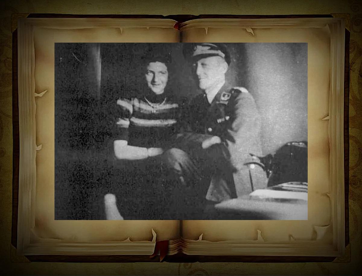 Ильза Штейн и Вилли Шульц в Минском гетто накануне побега в 1942 год