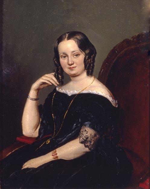 Евпраксия Николаевна Вульф (12 (24) октября 1809 — 22 марта (3 апреля) 1883), после замужества Вревская