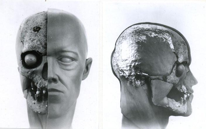 Nicholas II forensic facial reconstruction, 1991 - Sergey A. Nikitin / Судебно-медицинская реконструкция лица Николая II, 1991 - Никитин Сергей Александрович