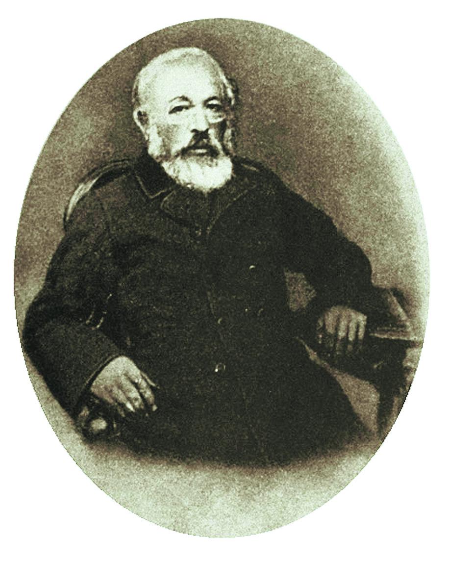 Александр Дмитриевич Бланк (1799–1870). Предоставлено М. Золотарёвым