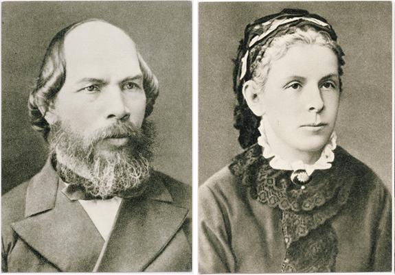 Илья Николаевич Ульянов (1831–1886) и Мария Александровна Ульянова (1835–1916)