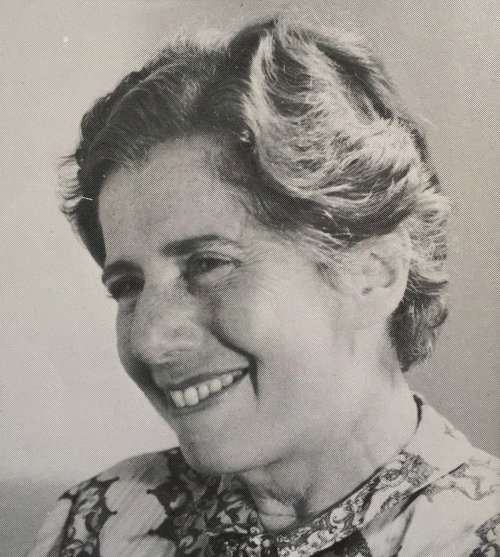 Charlotte Beradt, photo from the 1968 edition of The Third Reich of Dreams
