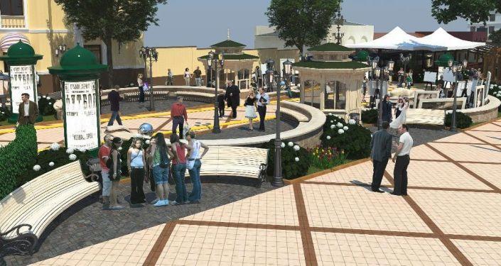 1/3 © Photo : Мой город КишинёвПроект реконструкции улицы Диордица