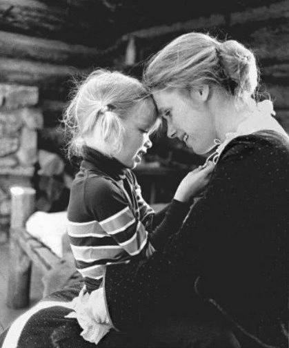 С дочерью Линн
