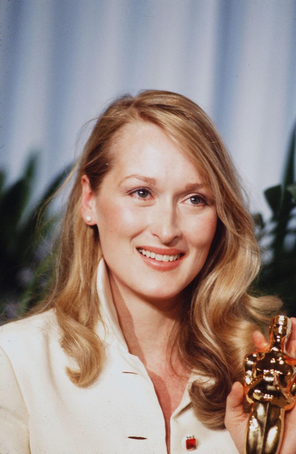 """Мерил Стрип получает свой первый """"Оскар"""" в 1980 году"""